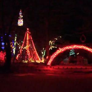 Family Set to Break Christmas Lights Record