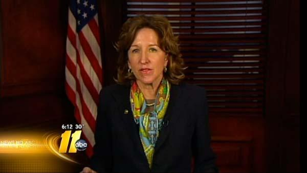 Sen. Kay Hagan supports gay marriage