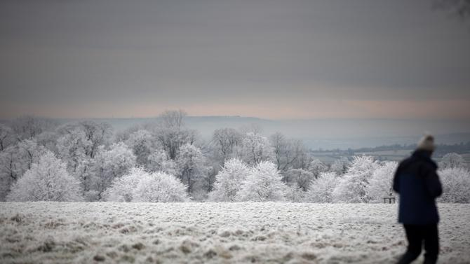 Freezing Fog And Frost Hit The UK