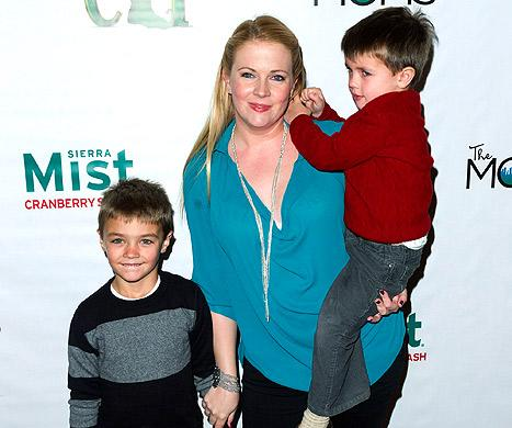 "Melissa Joan Hart: My Son Mason ""Thought He Could Breastfeed"" and Help With Baby Tucker"