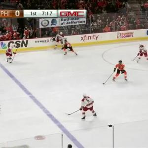Carolina Hurricanes at Philadelphia Flyers - 11/23/2015