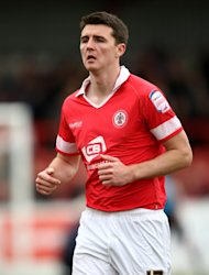 Peter Murphy was rested for Accrington's draw with Gillingham