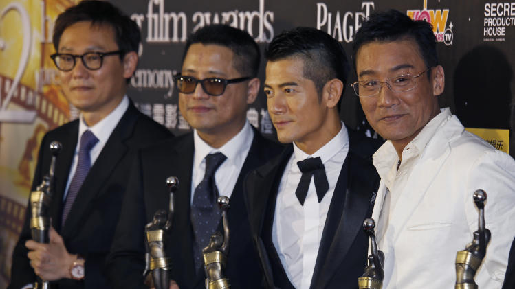 'Cold War' takes home top Hong Kong Film Awards