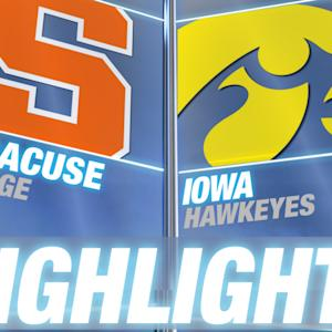 Syracuse vs Iowa | 2014-15 ACC Basketball Highlights