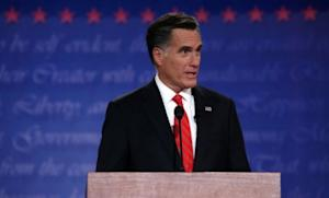 Mitt Romney speaks during the presidential debate at the University of Denver on Oct. 3: Romney seemed to handily outperform President Obama during their first debate, but it remains to be seen how much that'll change the narrative.