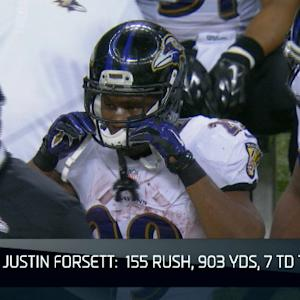 NFL NOW: Baltimore Ravens running back Justin Forsett's breakout season