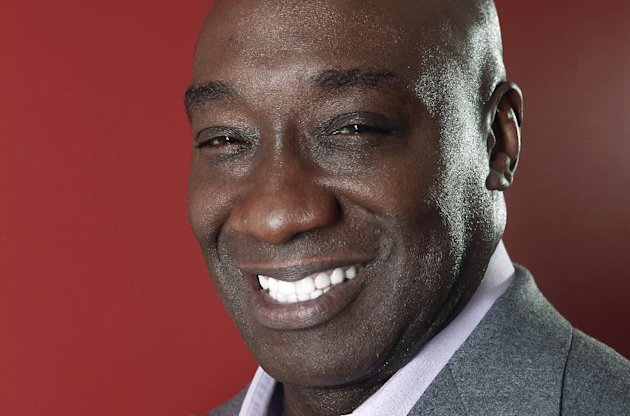 This Wednesday, Jan. 11, 2012 photo shows actor Michael Clarke Duncan
