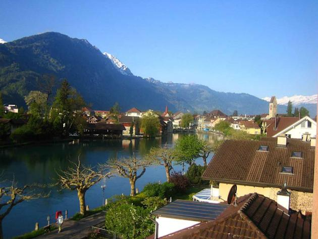 Interlaken, one of Yash Chopra's favourite locales.