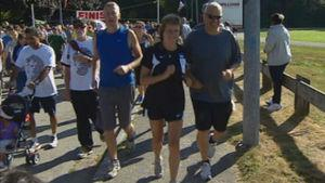Thousands of people participated in the annual Terry Fox Run on Sunday.