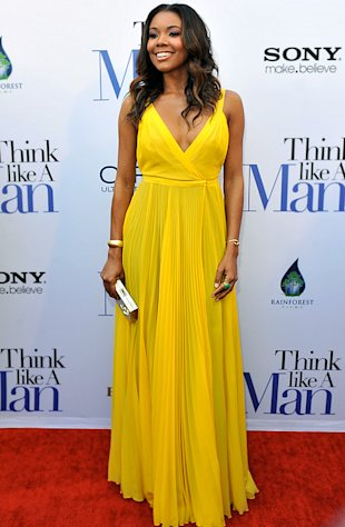 Gabrielle Union Wows in Sexy Yellow Dress