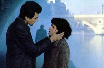 Daniel Day-Lewis and Juliette Binoche in The Unbearable Lightness of Being