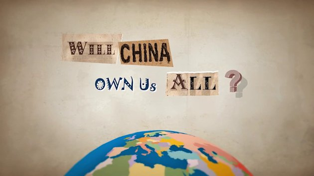 Will China own us all?