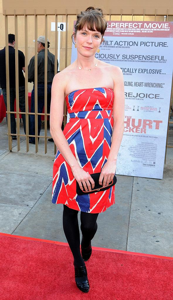 The Hurt Locker Premiere 2009 Kathryn Aselton
