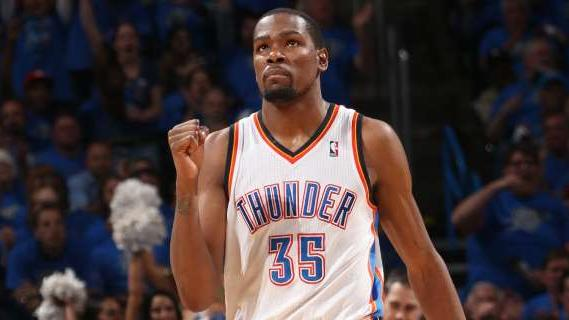 Kevin Durant is the NBA's 2013-14 Most Valuable Player, as he s…