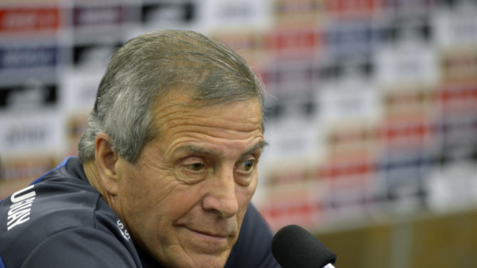 'El Maestro' Tabarez leads Uruguay at World Cup