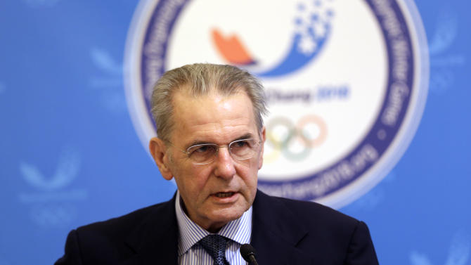 Rogge signs marketing deal for 2018  Olympics