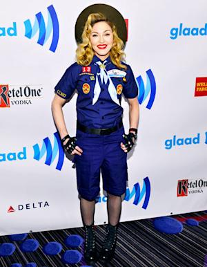 Write a Fashion Police Caption for Madonna