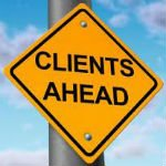Why Doesn't Your Firm Get More Client Referrals? image clients ahead