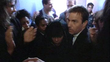 Whitney Houston and Kevin Costner in Warner Bros. Pictures' The Bodyguard