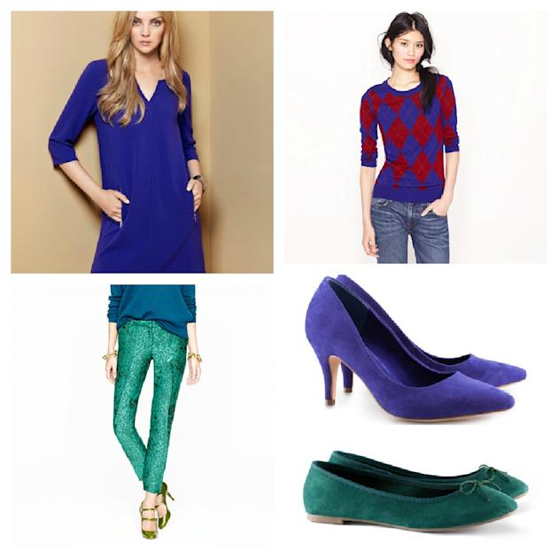 I is for Indigo and Pretty Jewel Tones