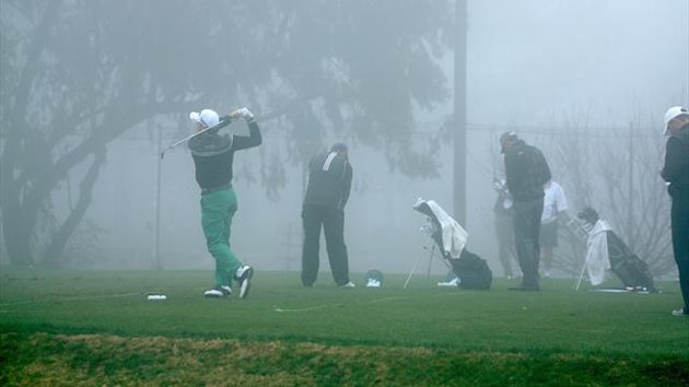 Fog at Torrey Pines