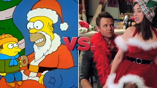 The Simpsons vs. Community