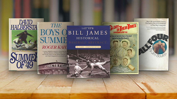 the 25 best baseball books of all time ranked sporting