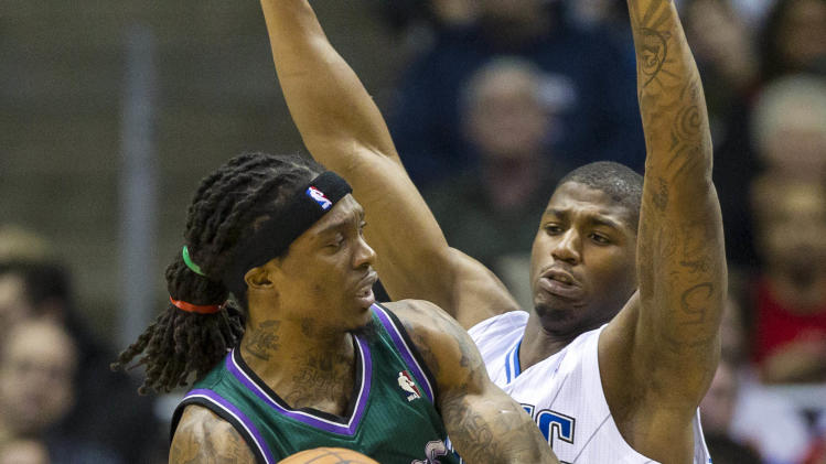 NBA: Orlando Magic at Milwaukee Bucks