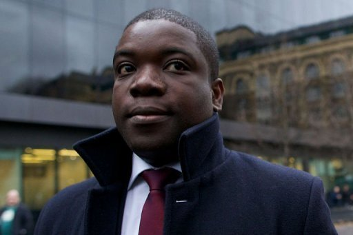 Former UBS banker Kweku Adoboli arrives at Southwark Crown Court in London. Adoboli, who gambled away $2.3 billion of the Swiss bank&#39;s money, was convicted of Britain&#39;s biggest ever fraud