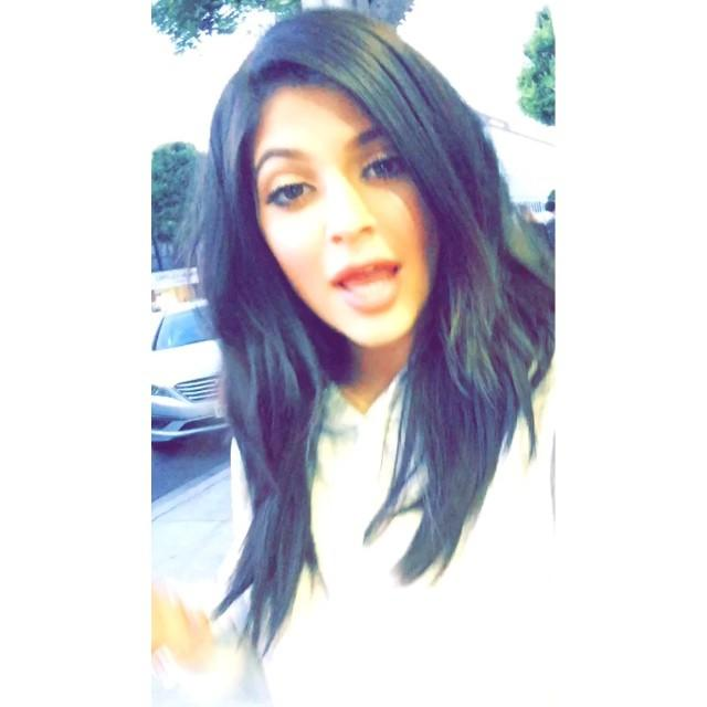 Kylie Jenner Snapchats Herself Singing! Is She Any Good?
