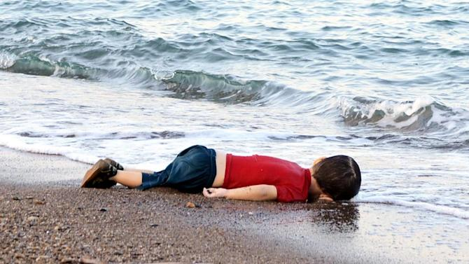 Part-PAR-Par8261894-1-1-0 - Artists react to the Syrian refugee boy who drowned - World Daily News