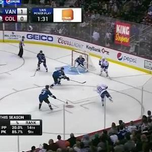 Semyon Varlamov Save on Chris Higgins (02:15/1st)