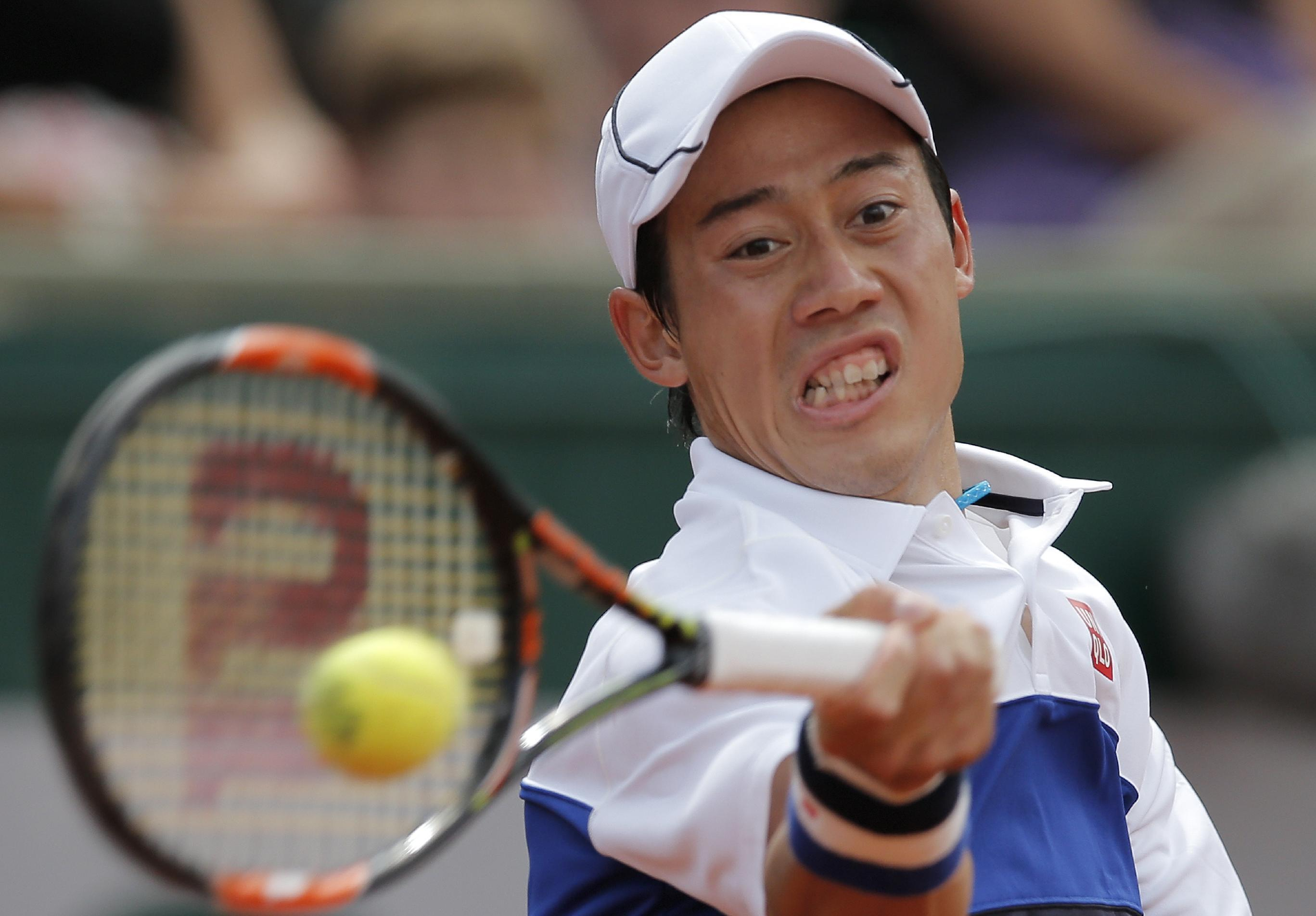 Nishikori off to strong start at French Open