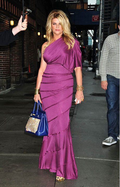 Kirstie Alley Letterman