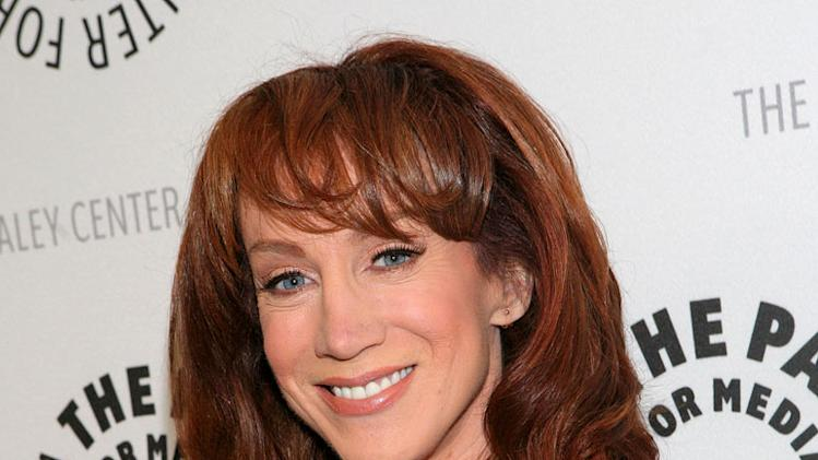 "Kathy Griffin attends ""The Paley Center for Media Honor Jeff Zucker and Dick Ebersol"" at The Century Plaza Hotel on November 12, 2007 in Century City, California."