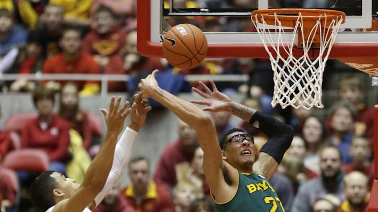 No. 9 Iowa State beats No. 7 Baylor 87-72