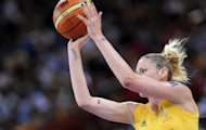 Sports Minister Kate Lundy has called for more equitable arrangements after learning that the Australian Opals, captained by WNBA three-time Most Valuable Player Lauren Jackson (pictured in 2008) flew to London premium economy, while the men's team travelled to the Olympics in business class