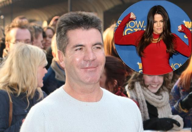 Simon Cowell, inset: Khloe Kardashian -- Getty Images