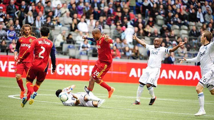 MLS: Real Salt Lake at Vancouver Whitecaps