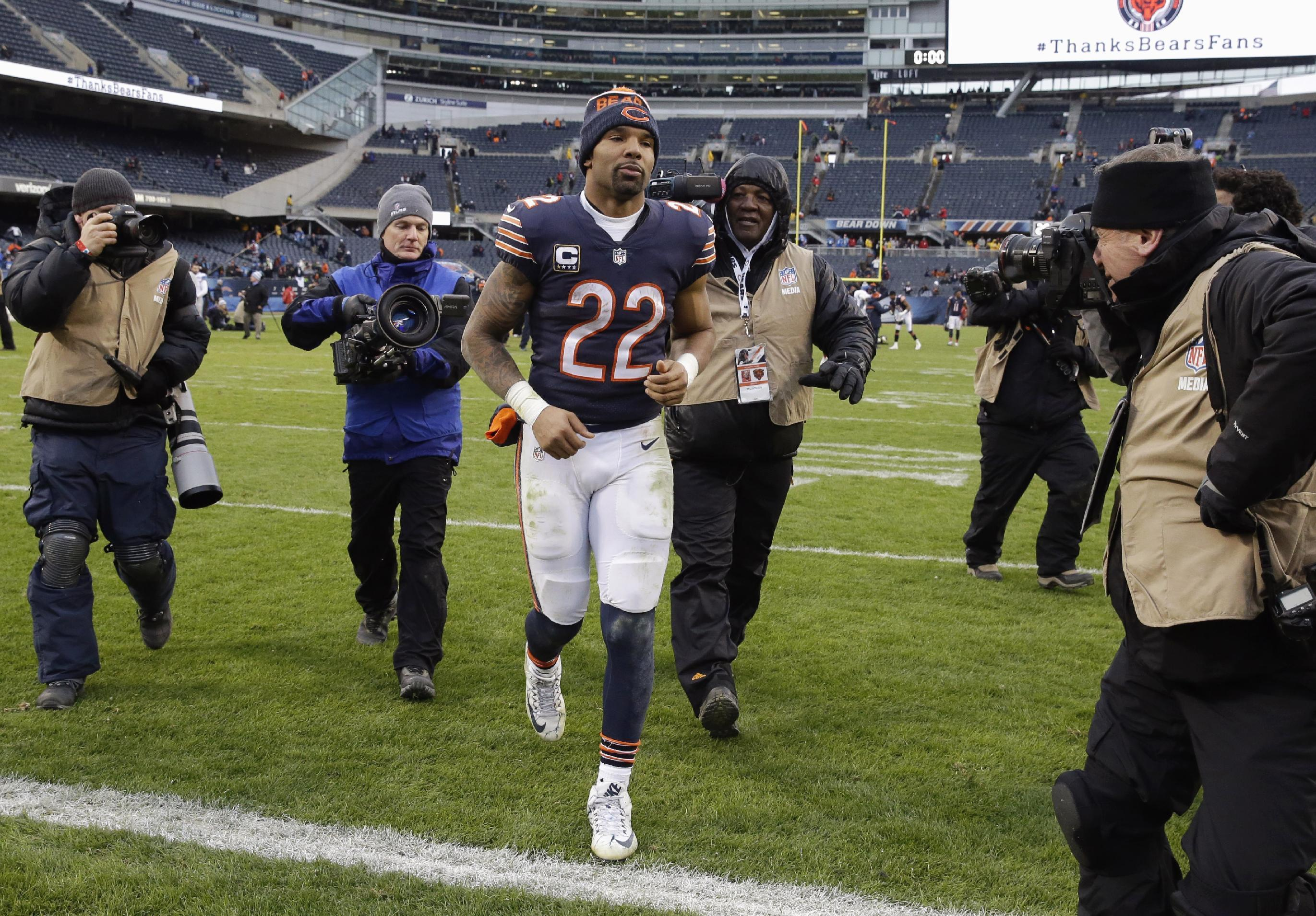 Running back Matt Forte done in Chicago after 8 seasons