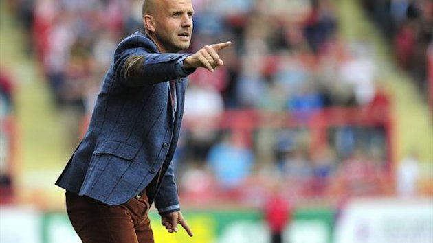 Exeter boss Paul Tisdale