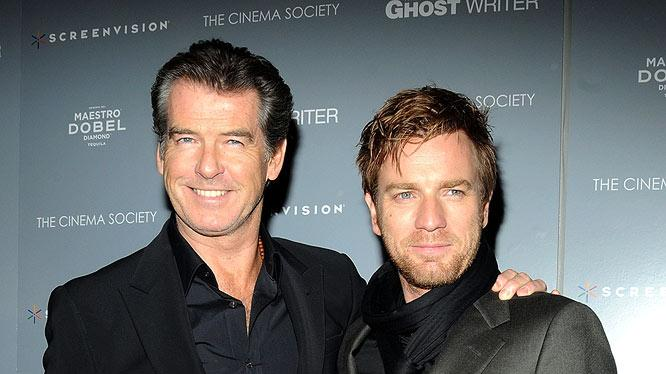 Brosnan Mc Gregor Ghost Writer Pr
