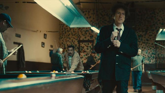 This undated photo provided by Chrysler shows the brand's two-minute 2014 Super Bowl Advertisement. The ad featured legendary American musician Bob Dylan. (AP Photo/Chrysler)