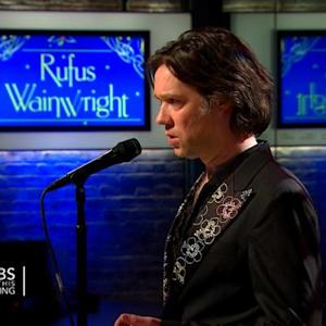 "Rufus Wainwright sings ""Christmas Is For Kids"" on Saturday Sessions"