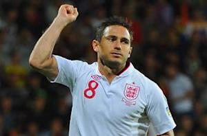 Lampard proud to become England's highest-scoring midfielder