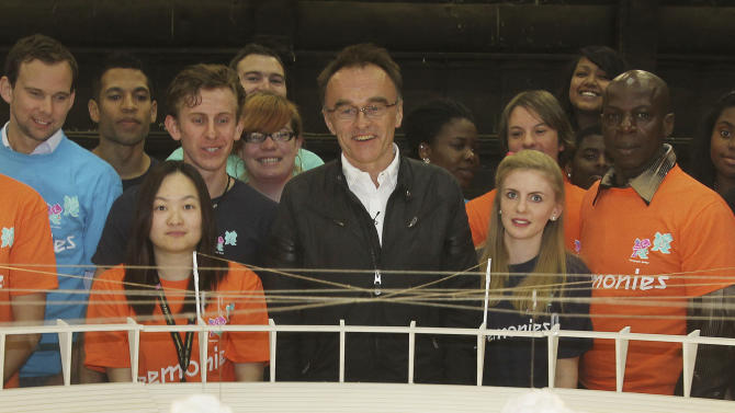 London 2012 Olympic Games Opening Ceremony director Danny Boyle pays tribute to volunteers