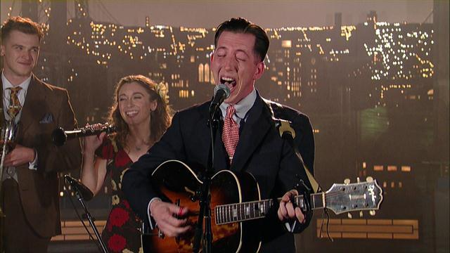 "David Letterman - Pokey LaFarge: ""Central Time"""