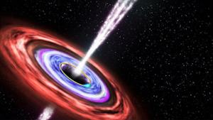 Black Holes Spew Out Surprise