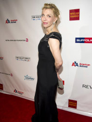 Courtney Love attends Elton John's AIDS Foundation's 11th annual Enduring Vision benefit on Monday, Oct. 15, 2012 in New York. (Photo by Charles Sykes/Invision/AP)