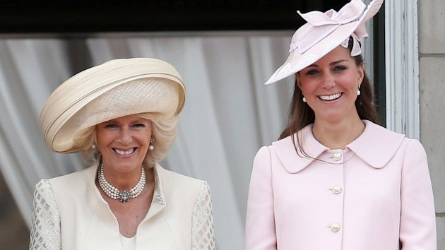 Royal Baby Could Arrive 'by the End of the Week,' Camilla Says (ABC News)
